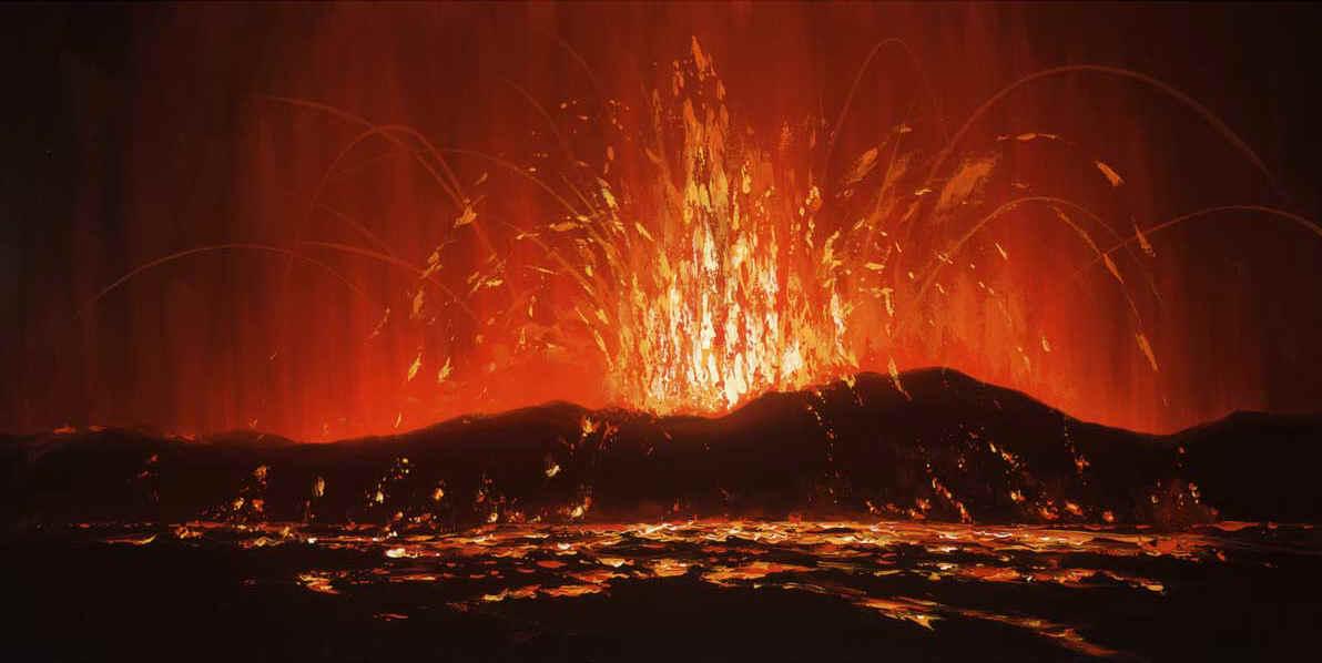 Bali Volcano Eruption Date >> The Art of WALFRIDO