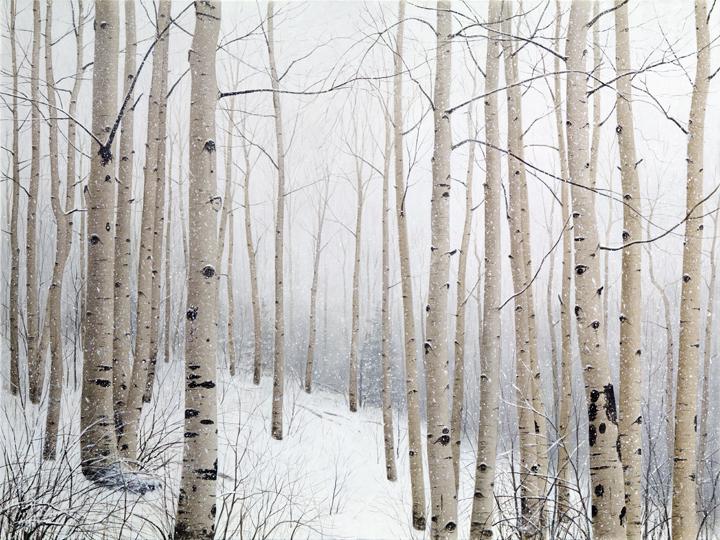 Alexander Volkov - Partie 2 dans Artistes: Peintres & sculpteurs, etc... SnowAspensLast